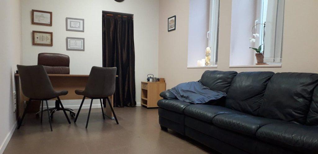Photo du cabinet Stéphanie hypnothérapie